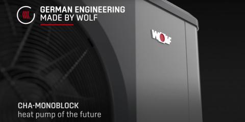 Características de la bomba de calor Monoblock CHA de WOLF
