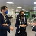 Visita de la ministra de Industria a Schneider Electric para conocer su apuesta por la sostenibilidad