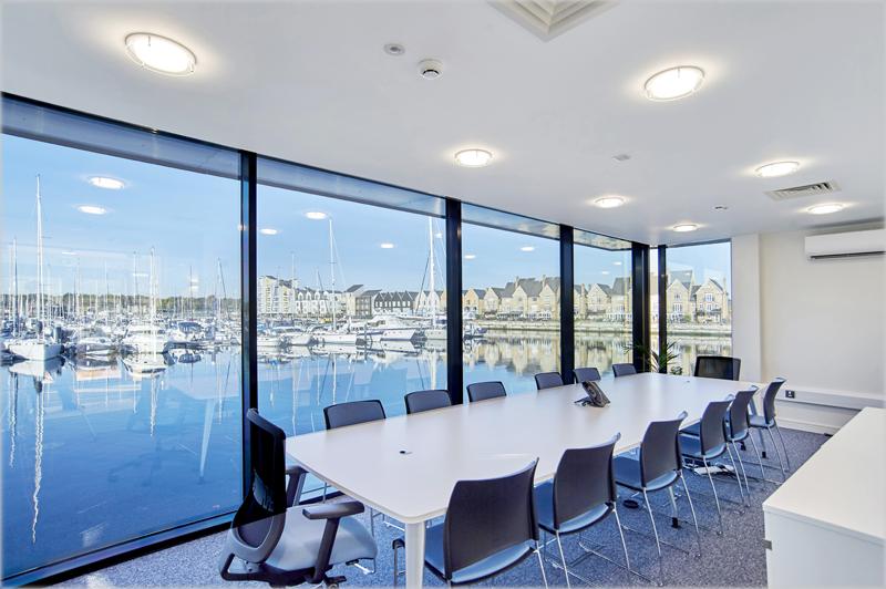 las oficinas del Consorcio Chatham Maritime