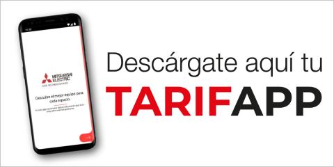 Mitsubishi Electric lanza la nueva herramienta TarifApp dirigida a los instaladores