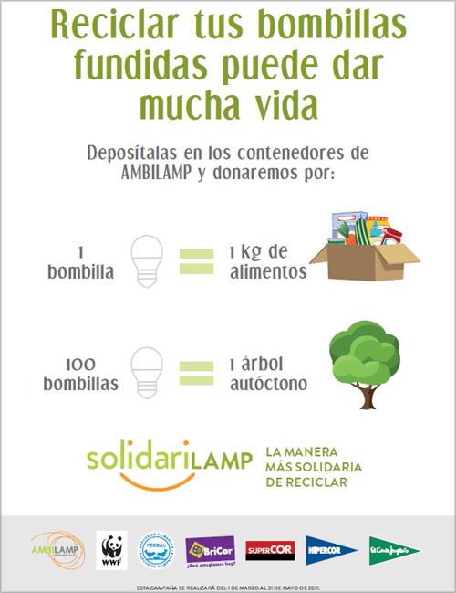 Campaña SOLIDARILAMP.