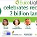 La asociación EucoLight celebra en un evento online el reciclaje de la bombilla número dos billones en Europa