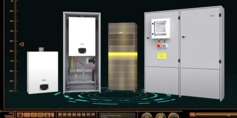 Gama de calderas de condensación de alta potencia: Force W, Force B, Roof Top Force B y Opera