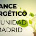 La Comunidad de Madrid redujo su consumo energético en 2019, según el último balance regional