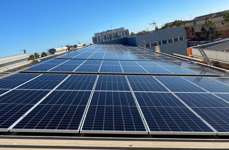 instalación fotovoltaica de la comunidad energética local de Albalat dels Sorells