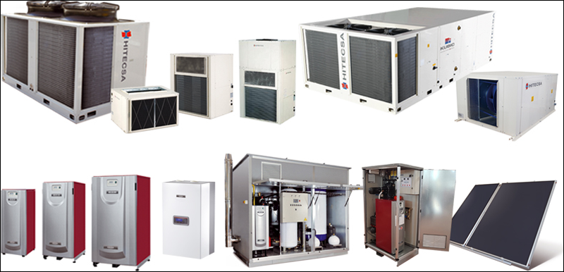 Productos de Hitecsa y Adisa Heating