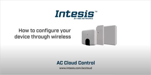 Cómo configurar el dispositivo AC Cloud Control de forma inalámbrica