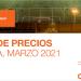 Lista de precios España LEDVANCE Marzo 2021