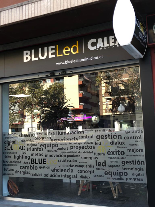 Escaparate BLUELed