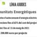 Ivace Energía abre el plazo para las ayudas al autoconsumo en las comunidades energéticas locales