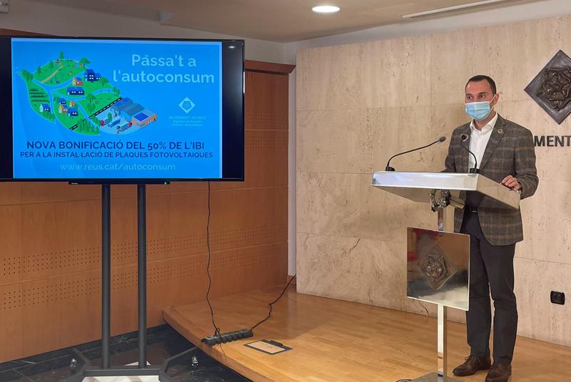 concejal de Medio Ambiente, Daniel Rubio, del Ayuntamiento de Reus