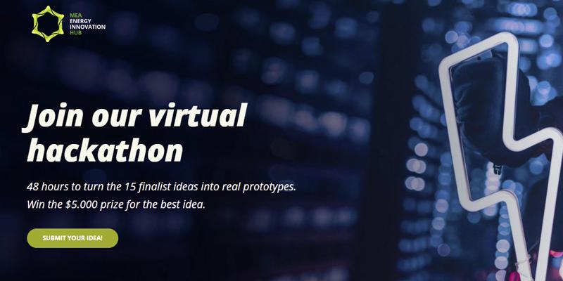Hackathon virtual de MEA Energy Innovation Hub