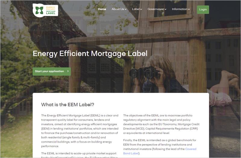 Etiqueta de Hipoteca de Eficiencia Energética