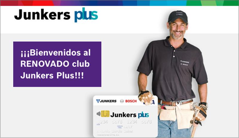 Club Junkers Plus y campaña.