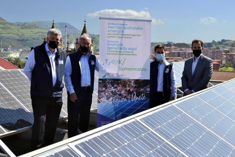 comunidad energética escolar TEK Somorrostro