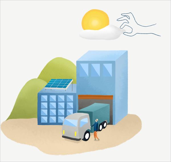 infografía uso de energía solar