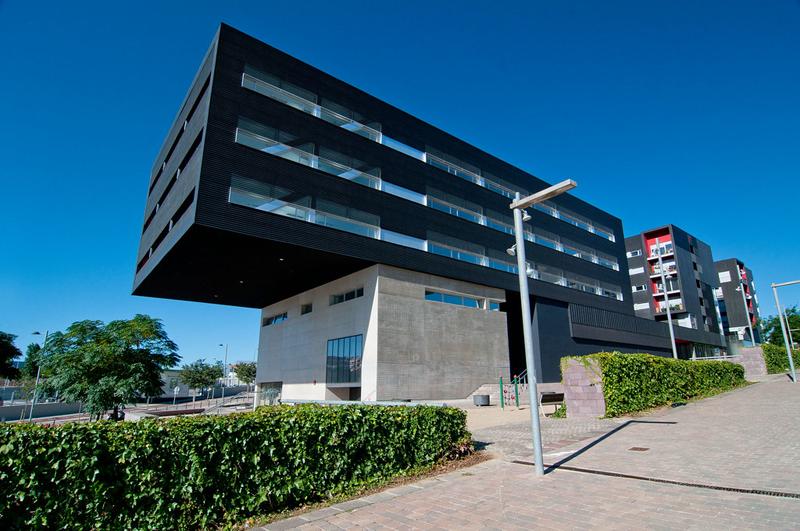 Edificio del sitio piloto español