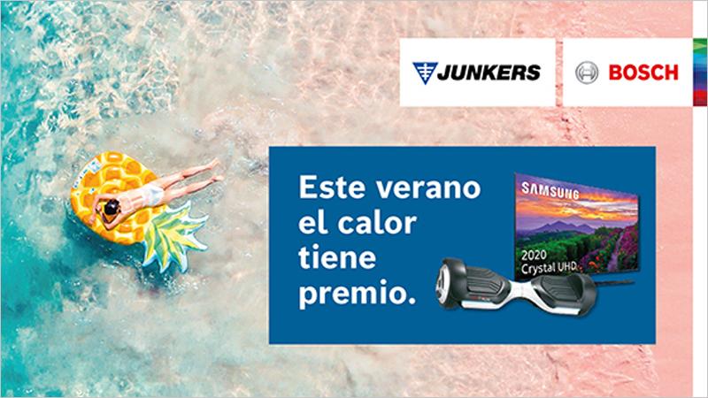 Campaña de Junkers-Bosch Este verano el calor tiene premio