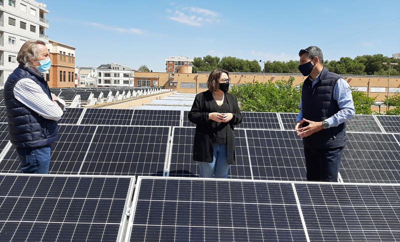 planta solar fotovoltaica en el CEIP Almassaf
