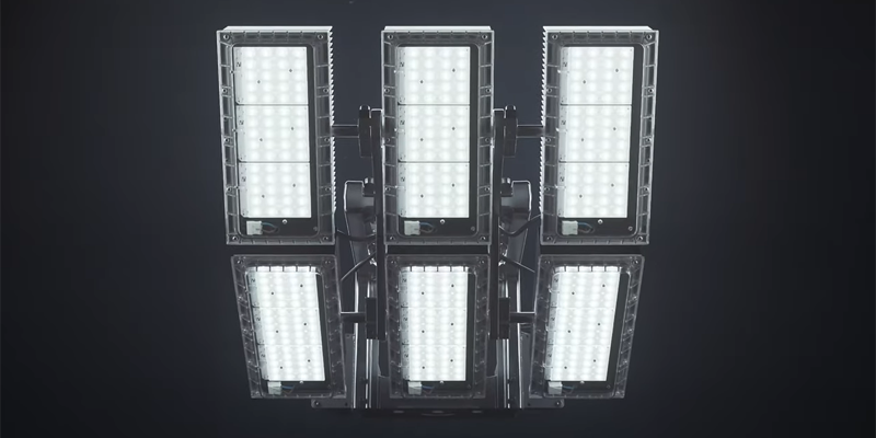 Ecoblast, la nueva solución LED de Schréder para iluminar instalaciones deportivas