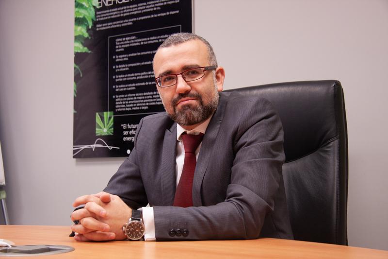 Luis María Sánchez, gerente y responsable de proyectos de Stechome