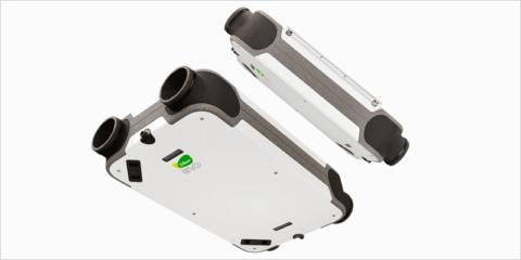Eficiencia energética y confort con el equipo de ventilación de doble flujo EVO de Siber