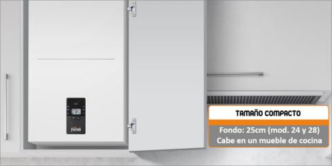 Nueva Bluehelix Alpha de Ferroli, diseñada para mejorar la eficiencia en calefacción y agua caliente