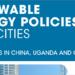 Informe de Irena sobre políticas de renovables para impulsar la transición energética en las ciudades