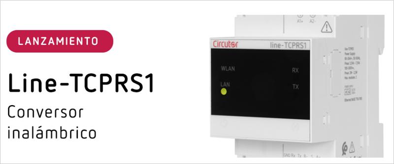 conversor inalámbrico Line-TCPRS1 de Circutor