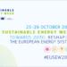 Abierto el plazo para participar en los Premios de Energía Sostenible de la UE 2021