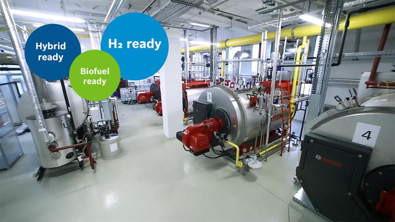 Bosch inicia su camino hacia la descarbonización del mercado de la calefacción industrial