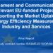 Informe sobre resultados de proyectos financiados por la UE para la eficiencia energética en industria y servicios
