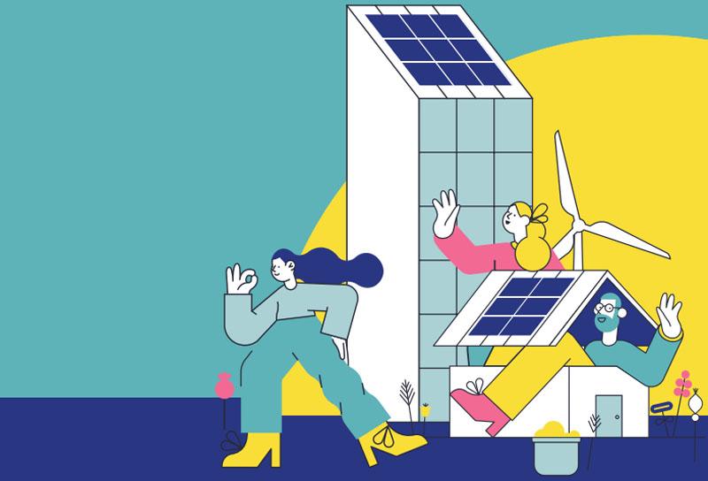 El informe 'Energía comunitaria: el potencial de las comunidades energéticas en el Estado español' de Amigos de la Tierra analiza el potencial de autoconsumo fotovoltaico y de las comunidades energéticas para 2030.