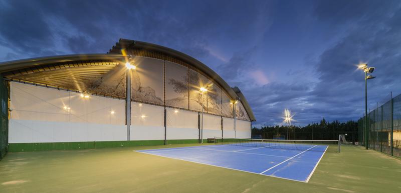 Pista de tenis outdoor