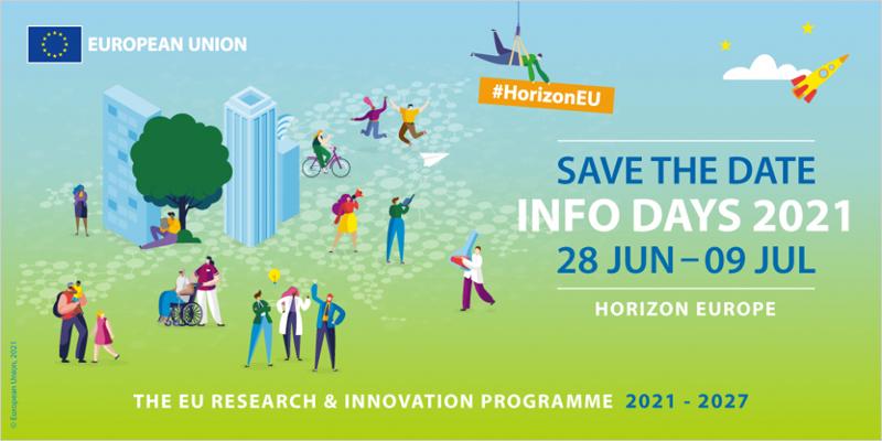 Los Info Days de Horizonte Europa se celebran del 28 de junio al 9 de julio