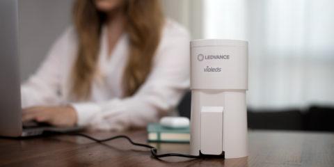LEDVANCE lanza al mercado el purificador de aire UVC HEPA que desinfecta con rayos ultravioleta