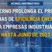 El Gobierno prolonga hasta 2023 las ayudas de eficiencia energética para pymes y empresas industriales
