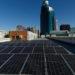 La electrolinera del Mitma se abastece de energía fotovoltaica generada en la azotea del edificio