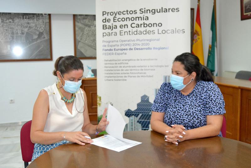 Culminan en Posadas y Hornachuelos las obras cofinanciadas por el Feder y la Diputación para la instalación de luminarias led