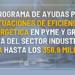 El IDAE amplía en 21 millones el presupuesto del Programa Industria para Galicia y Navarra