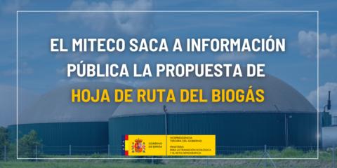 Sale a información pública la Hoja de Ruta del Biogás con 43 medidas para dinamizar el mercado