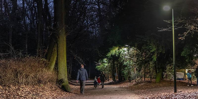 proyecto de iluminación inteligente de Schréder en Bruselas