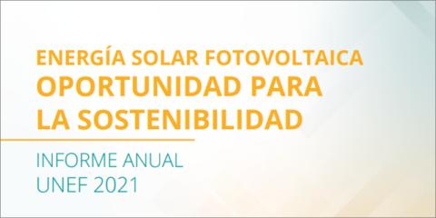 La potencia instalada en autoconsumo fotovoltaico creció un 30% en 2020, según datos de UNEF