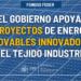 Más de 76 millones en ayudas para 79 proyectos de energías renovables innovadoras en sectores productivos