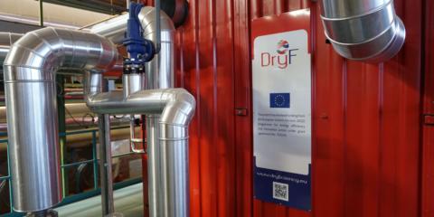 El proyecto DryFiciency aumenta la eficiencia energética en la industria con bombas de calor de alta temperatura