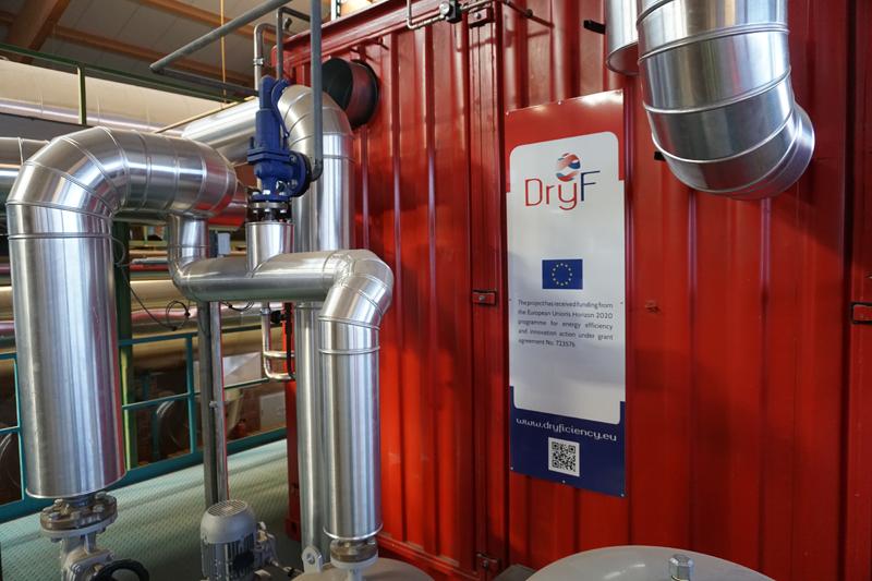 Bomba de calor de DryFiciency en Wienerberger