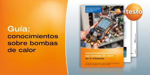 La importancia del ajuste de las bombas de calor con las soluciones de Testo para asegurar la eficiencia energética