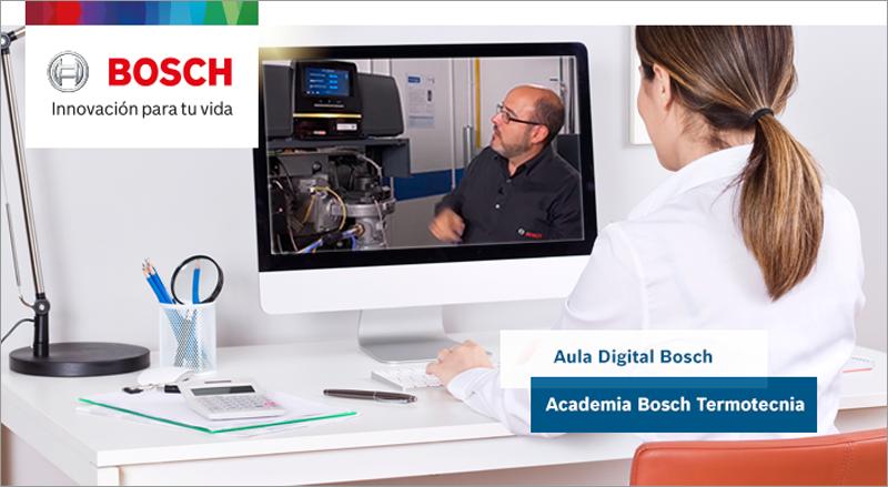 el Aula Digital de Bosch reabre sus puertas para ofrecer una programación completa de cursos online