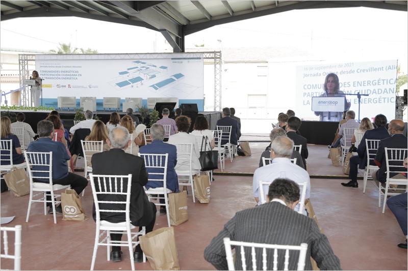 clausura del acto 'Comunidades energéticas: participación ciudadana en la transición energética'