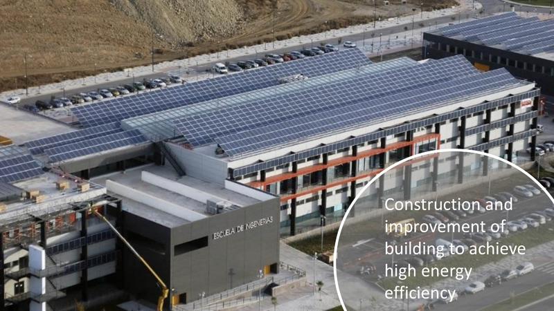 Panorámica de la Escuela de Ingenierías Industriales de la Universidad de Málaga es